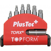 TOPFORM Bit-Sortiment - Mini-Check TX Plus - Universalhalter